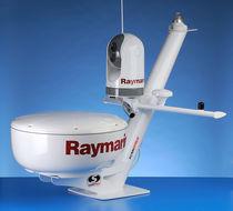 Radar antenna mount / GPS / stainless steel / mast