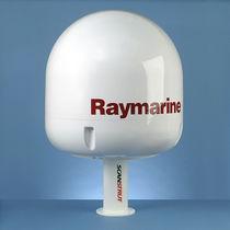 Satcom antenna mount / composite
