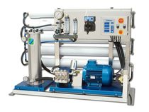 Yacht watermaker / reverse osmosis / 380 V