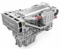 Diesel ship engine / turbocharged / common-rail
