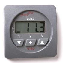 Digital boat voltmeter