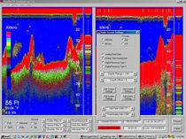 Boat fish finder / color / digital