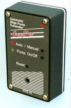 Bilge pump controller / for boats / automatic