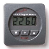 Boat engine hour meter
