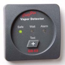 Gas detector / vapor / for boats / alarm