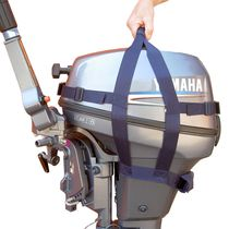 Transport strap / outboard motor