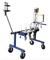 Gelcoat spraying machine / multi-component / shipyard