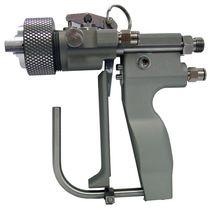 Chop gun / gelcoat spray / shipyard / internal mixing