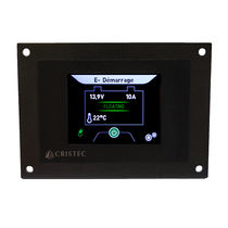 Boat monitoring panel / battery / touch screen