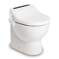 Marine toilet / gravity flush