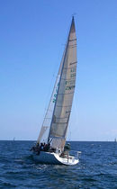 Mainsail / for racing sailboats