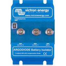 Boat battery isolator