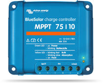 Battery charge controller / for solar panels / boat
