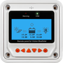 Boat control panel / for solar charger regulators