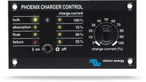 Boat monitoring and control panel / DC/AC converter