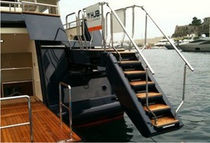 Yacht stairs