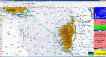 Navigation software / weather / routing / for sailboats