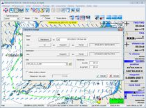 Routing software / navigation / weather / for boats