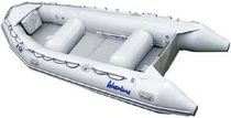 Outboard inflatable boat / semi-rigid / for extreme conditions / 6-person max.