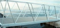 Dock gangways / standard / with handrails / aluminum
