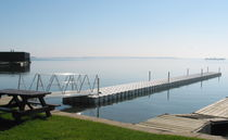 Floating dock / for inland waterways / for marinas / plastic