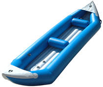 Multi-use canoe / inflatable / 2-seater / PVC