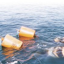 Multipurpose buoy / for commercial ports / polyethylene