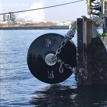 Harbor fender / pier / foam-filled