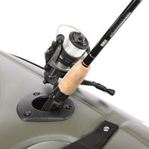 Canoes and kayak fishing rod holder / built-in