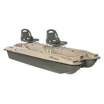 Fishing rowing catamaran / 2-person
