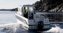 Outboard walkaround / wheelhouse