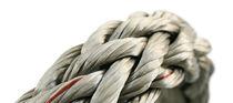 Multipurpose cordage / flat braid / for sailing dinghies / Dyneema® core