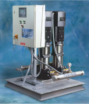 Ship water pressurization system