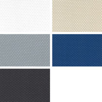 Exterior decoration fabric for marine upholstery / PVC / artificial leather / polyester