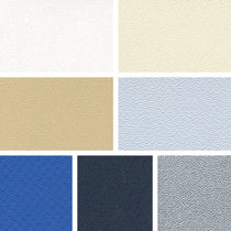Exterior decoration fabric for marine upholstery / polyester / PVC