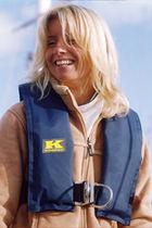 Inflatable lifejacket