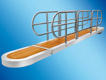 Boat gangways / for yachts / telescopic / rotating