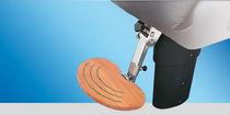 Boat helm seat pedestal / adjustable / electric / metal