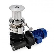 Yacht windlass / vertical / electric / single-drum