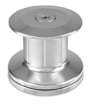 Boat capstan / electric / aluminum base