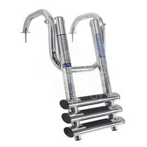 Boat ladder / telescopic / swim / manual
