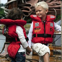Foam life jacket / child's / with safety harness