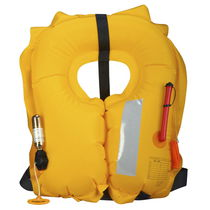 Inflatable life jacket / for professional use
