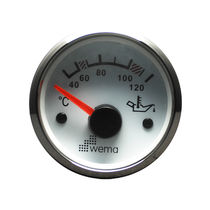 Boat indicator / oil temperature / analog