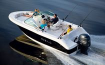 Center console monohull boat / dual-console / 8-person max.