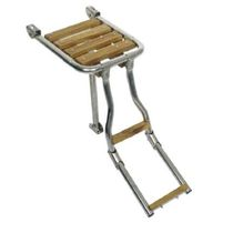 Boat ladder / folding / boarding / platform