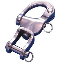 Sailboat snap shackle with shackle / quick-release / multi-purpose