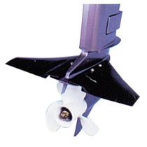 Outboard motor hydrofoil