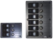 Boat control panel / electrical circuit / with waterproof fuse holder