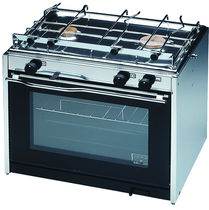 Boat stove-oven / gas / two-burner